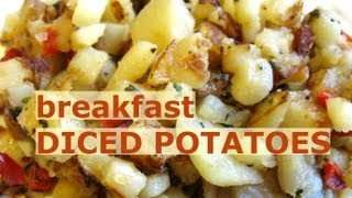 How To Cook Make Diced Potato Breakfast Meal - Hash Brown Alternative Cooking Jazevox Homeycircle