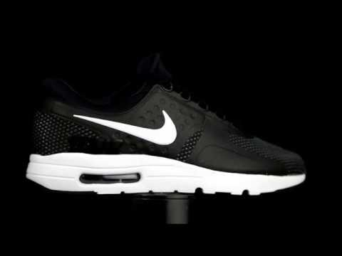 air max negras con blanco