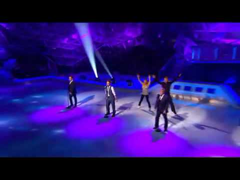 Westlife   World Of Our Own Dancing on Ice 27 01 2008