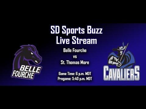 HSFB: St. Thomas More vs Belle Fourche (SD Sports Buzz Live Stream)