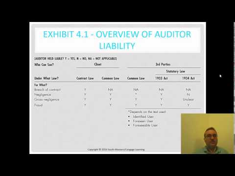 auditors third party liability essay Auditors' liability  auditor, its client and the third party,  working papers, showing exactly what was done, when and who did it this will be the best, and.