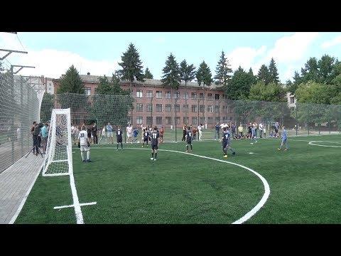 Телеканал Новий Чернігів: Новий футбольний майданчик у Чернігові  Телеканал Новий Чернігів