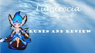 Lumirecia The Water Sylphid: Rune Build and Review