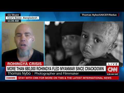 Rohingya Crisis -- Thomas Nybo on CNNi