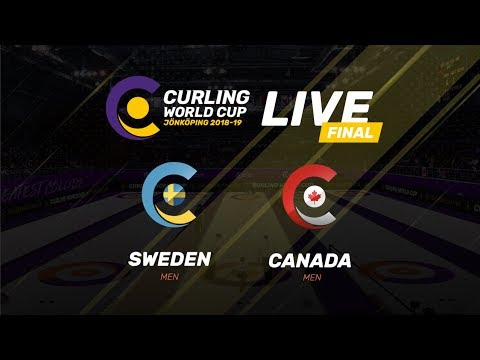 Sweden v Canada - Men's Final - Curling World Cup - Jonkoping, Sweden - third leg
