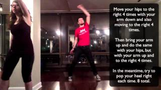 Thriller Tutorial - Learn the dance for a wedding flash mob!