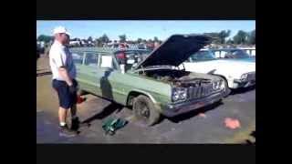 Lambrecht Chevrolet Auction - Starting a 1964 Car