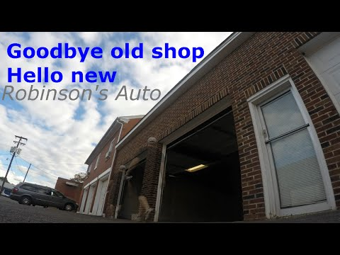 Goodbye old shop hello new, first repair Kia Sedona power steering pump and more
