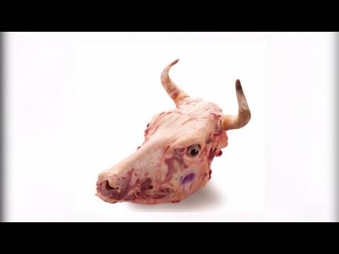 Как разделать голову коровы