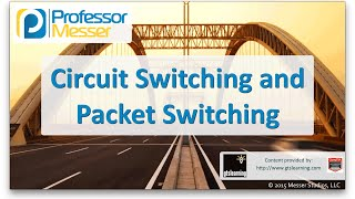 Circuit Switching and Packet Switching - CompTIA Network+ N10-006 - 1.4