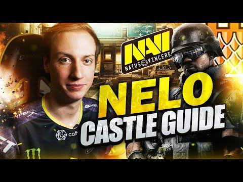 NAVI neLo - How to Play Castle (Rainbow Six Siege Guide)