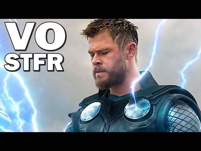 AVENGERS 4 Trailer VOSTFR ★ ENDGAME (NOUVELLE Bande Annonce MARVEL)
