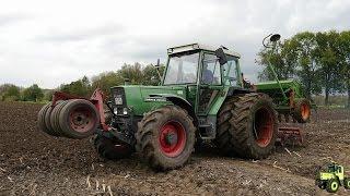 [400 Abonnenten Special] Gras säen mit Fendt 309LSA und Amazone D8-30 Super