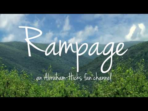 abraham-hicks:-rampage-of-one-love