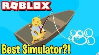 THE BEST ROBLOX SIMULATOR?! Roblox Fishing Empire Simulator