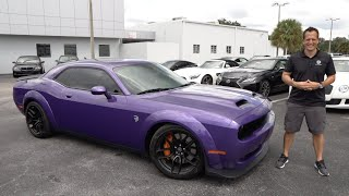 Did Dodge make a Muscle Car mistake on the NEW Challenger Hellcat?