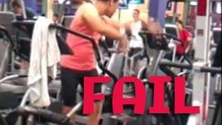 #1 Epic Gym Fail Compilation / Подборка приколов из качалки №1