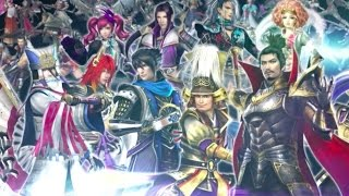Samurai Warriors Chronicles 3rd - Japanese Trailer
