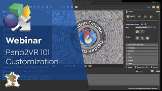 Webinar: Pano2VR 101 | Customization