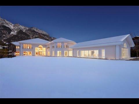 A Neoclassical-Style Masterpiece in Garmisch Partenkirchen, Germany