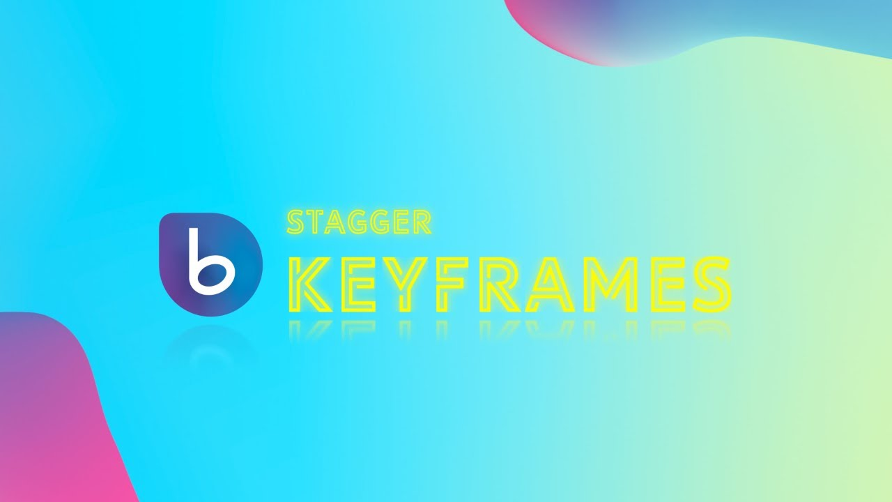 Stagger Keyframes with BeatEdit for After Effects - In Depth Tutorial