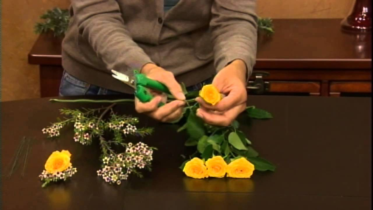 How to wire flowers the basics from flower duet youtube youtube premium izmirmasajfo