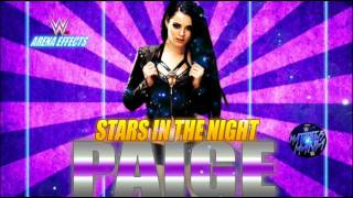 WWE | Paige | Stars In The Night | Theme Song | AE+ Arena Effects | 2016