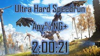 Horizon Zero Dawn Speedrun: Any% NG+ (Ultra Hard) in 2:00:21 [World Record]