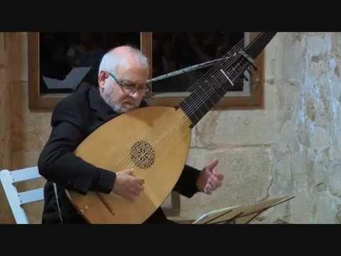 H. Kapsperger: Passacaglia in La (Juan Carlos Rivera, tiorba)