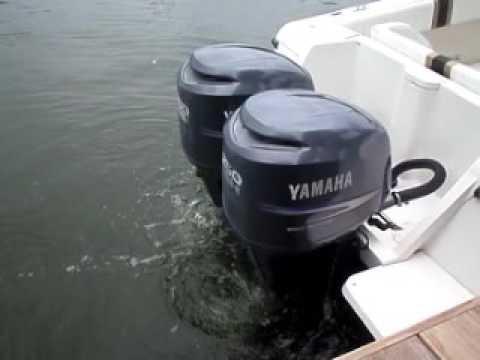 Yamaha 250hp Counter Rotating 4 Stroke Outboard Boat Motors