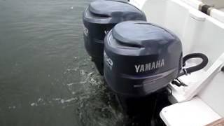 Yamaha 250hp counter rotating 4 stroke outboard boat motors 2006 FOR SALE