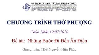 HTTL KINGSGROVE (Úc Châu) - Chương trình thờ phượng Chúa - 19/07/2020