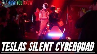 Tesla Time News - Tesla's Silent Cyberquad!