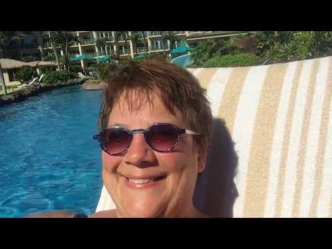 Pool At The Waipouli Beach Outrigger Resort In Kapaa, Maui, Hawaii.