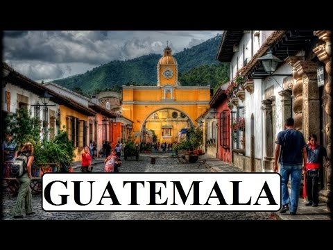 Antigua / Guatemala Part 1 Travel Video