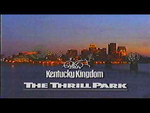 Kentucky Kingdom Louisville KY Commercial (1995) from YouTube · Duration:  31 seconds