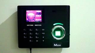 Hursoft M600 Parmak İzi - Kart Okuyucu Tanıtım Video Video