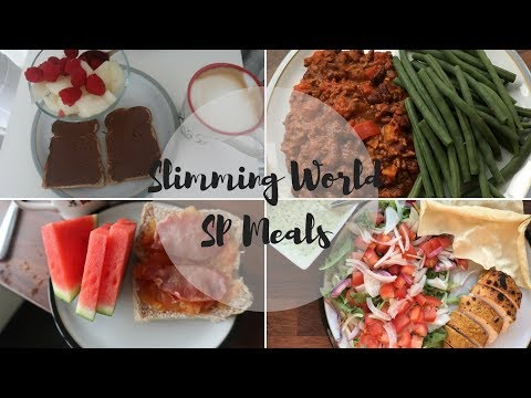Meals From A Week Of Slimming World SP