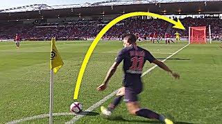 10 Goles Olimpicos Famosos ● Best Corner Kick Goals In Football
