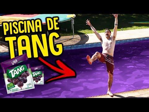 MINHA PISCINA DE TANG DE UVA !! [ REZENDE EVIL ]