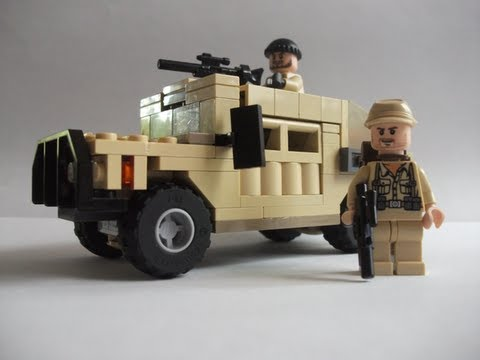 How To Make A Lego Humvee Youtube