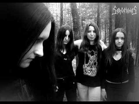 nude black metal chicks