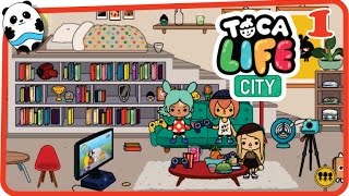 Toca Life: City (Toca Boca) Part 1 (Loft Apartment) - Best App for Kids