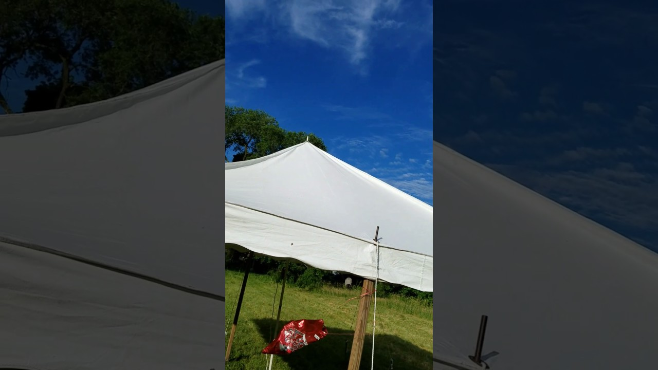 16 X Canopy Tent Structure
