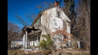 Exploring Abandoned Mill House - 4k