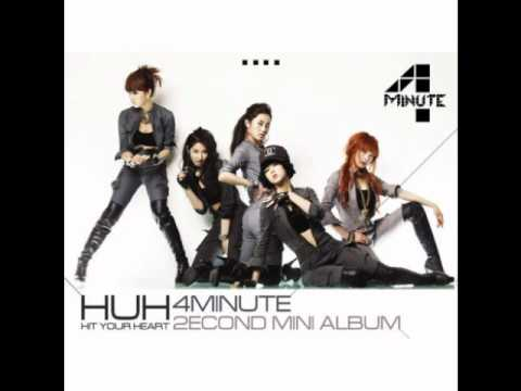 4minute - HUH [hit your heart] 2nd MINI ALBUM DOWNLOAD