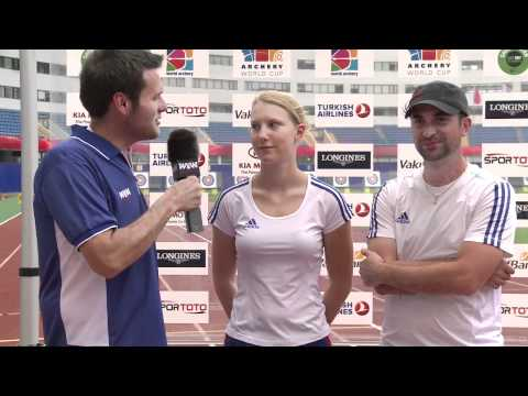 Archery World Cup 2011 - Shanghai Stage 4 - Flash Interviews Day 2