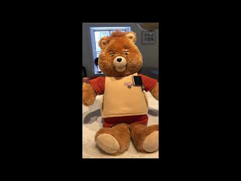 WOW Teddy Ruxpin with Ipod