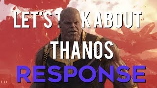 """A Response to Movies with Mikey's """"Let's Talk About Thanos"""""""