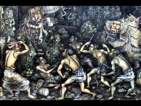 Balinese Ritual Trance Music - Ngurek Ceremony